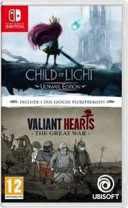 Gry Child of Light Ultimate Edition / Valiant Hearts: The Great War Nintendo Switch (Polska lub...)