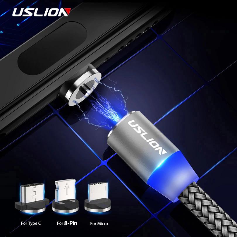 USLION Magnetic USB Cable. $1.94