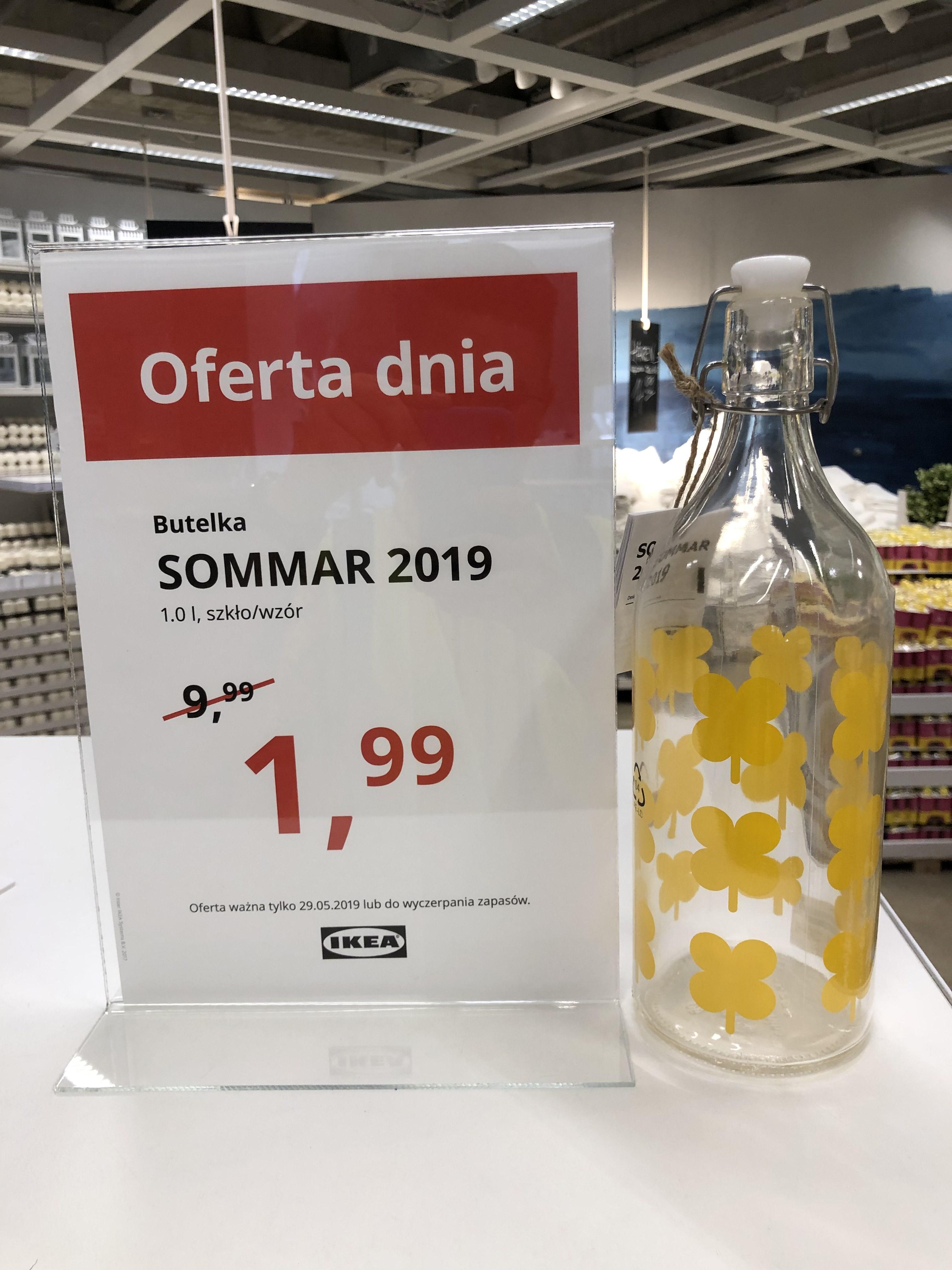 Butelka Sommar 2019 IKEA GDAŃSK