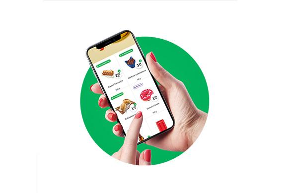 Aplikacja mobilna Żabki