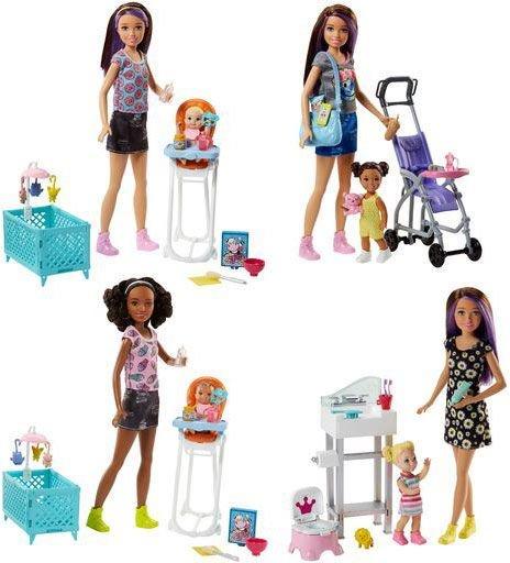 Mattel Barbie lalka opiekunka z akcesoriami za 49,90zł @ HulaHop