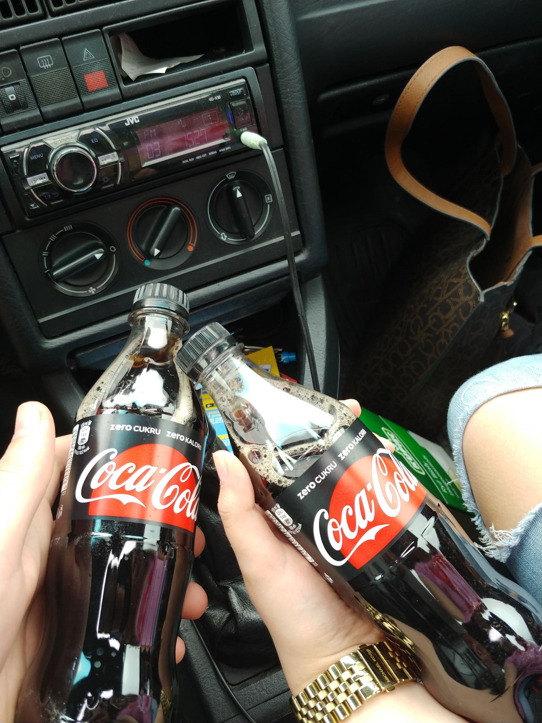 Darmowa Coca-Cola zero Lublin przed przyrodniczym ulica głęboka