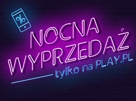 Nocna promocja w Play – przecena wszystkich hulajnóg!