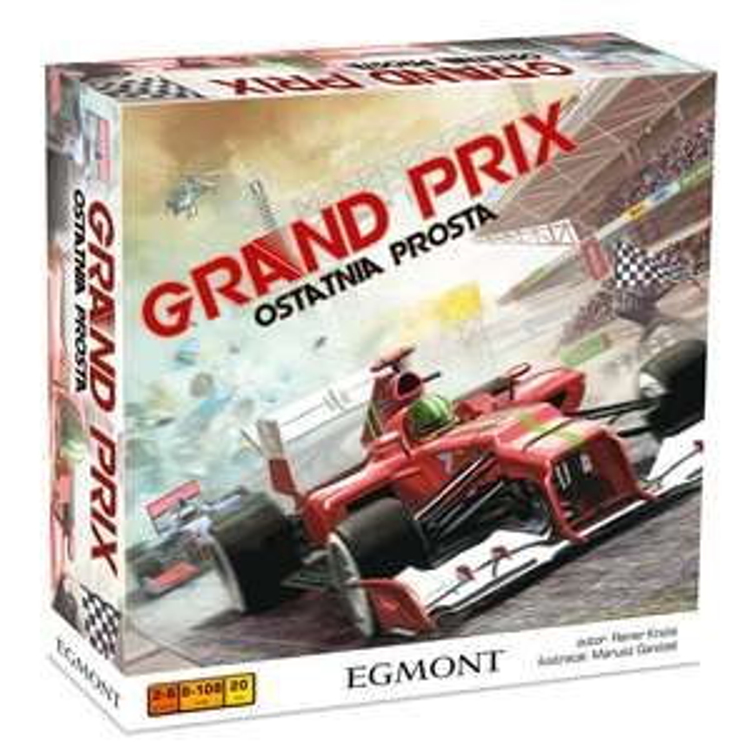 Gra planszowa Grand Prix - Ostatnia Prosta, Egmont