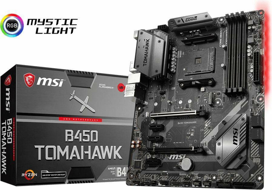 MSI B450 TOMAHAWK AM4