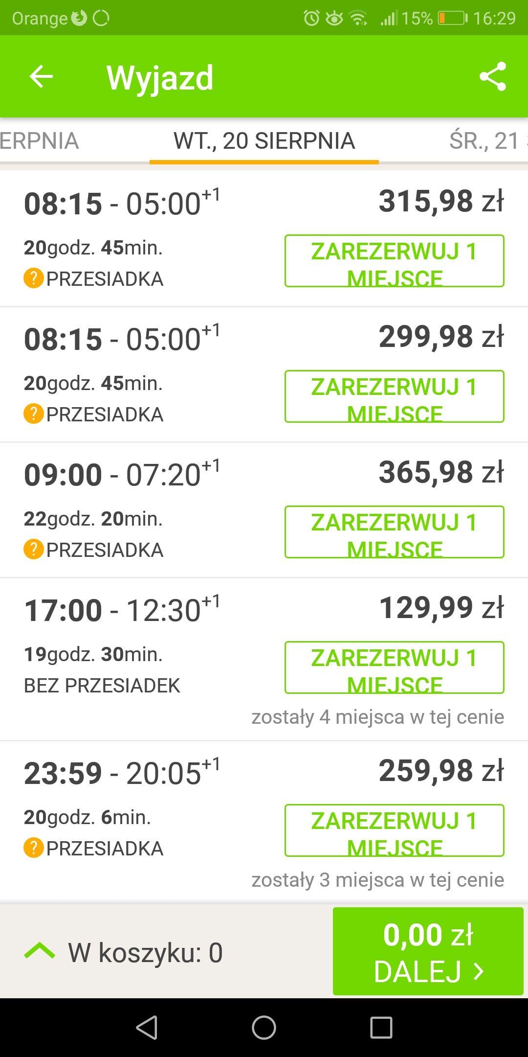 Wakacyjne przejazdy do Chorwacji Flixbus
