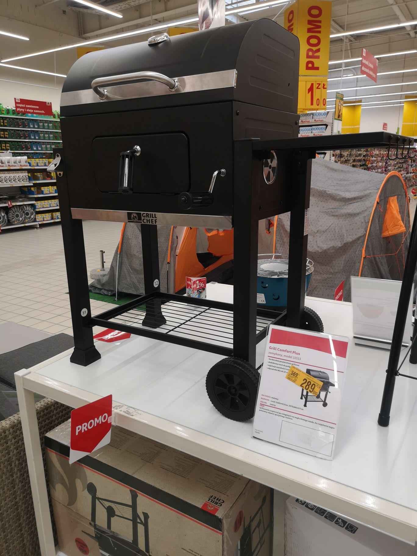 Grill cheff comfort plus 11513 @ Auchan (Kraków)