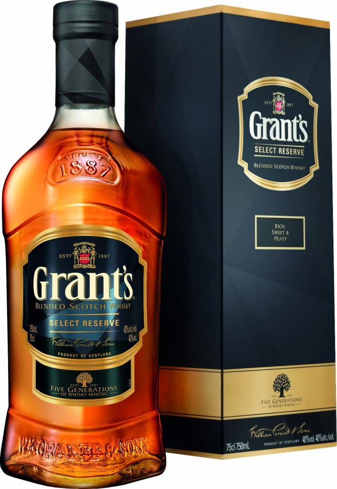 Whisky Grant's Select Reserve 0,7l, Auchan Białystok Hetmańska