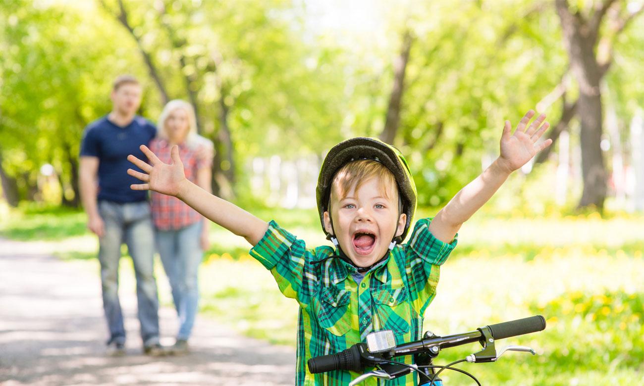 Dziecięcy rowerek biegowy