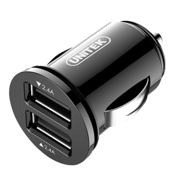 Ładowarka USB Unitek Y-P540 samochodowa SMART 2x USB 24W w proline.pl