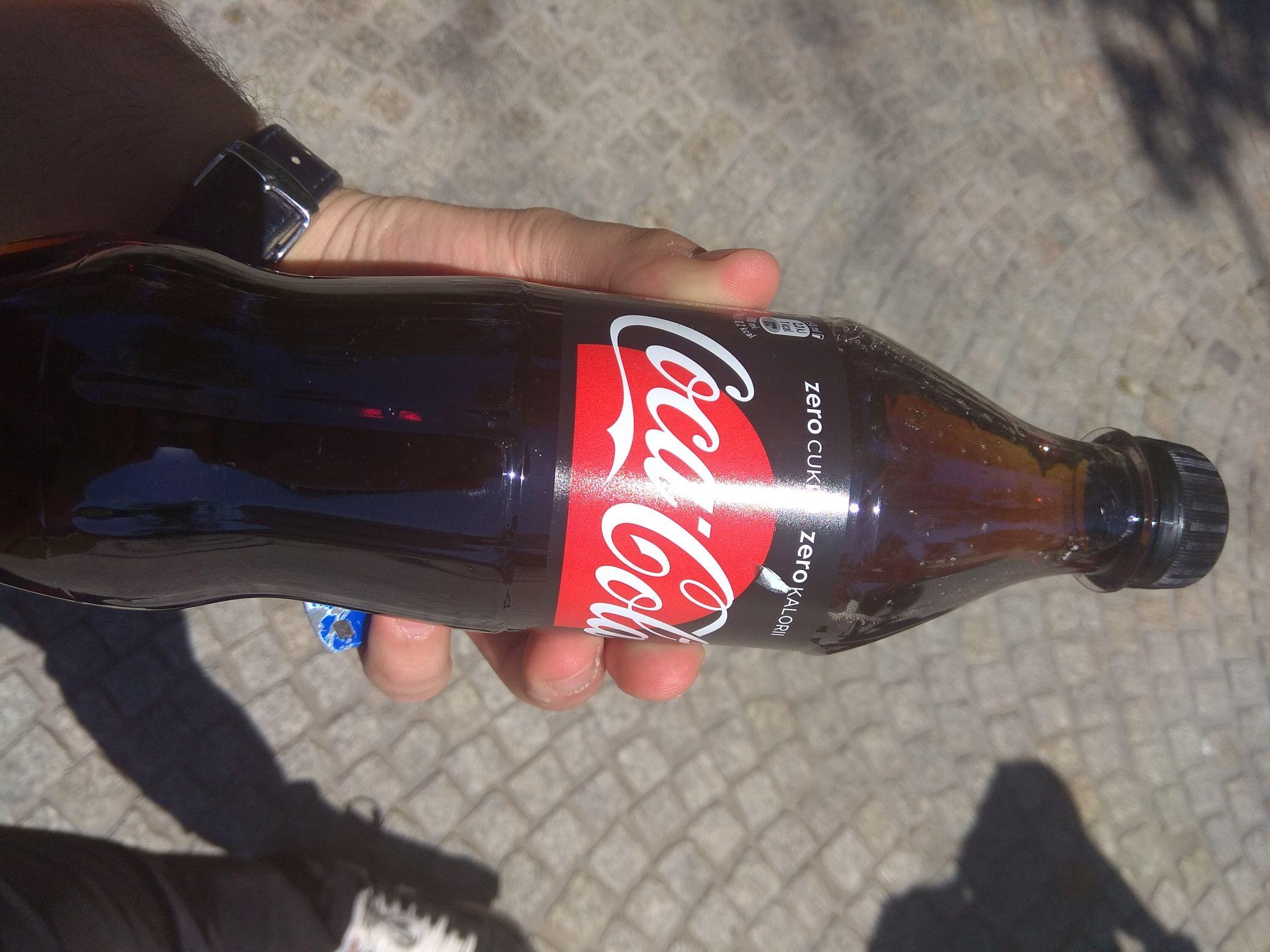 Darmowa coca-cola zero na placu litewskim w Lublinie
