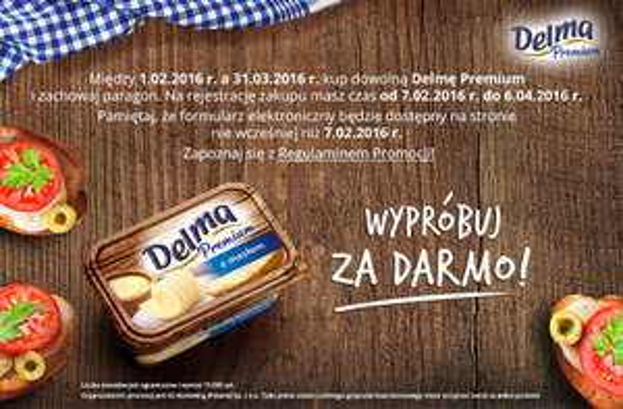 Wypróbuj za darmo Delmę Premium