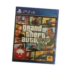 Grand Theft Auto 5 (ps4) pudełko