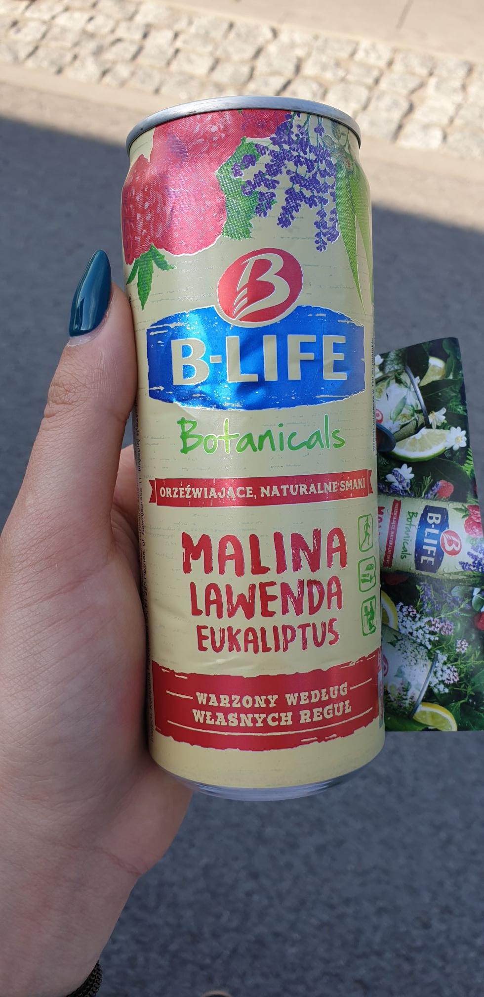 Darmowy napój botaniczny b-life Warszawa przy Rzymowskiego