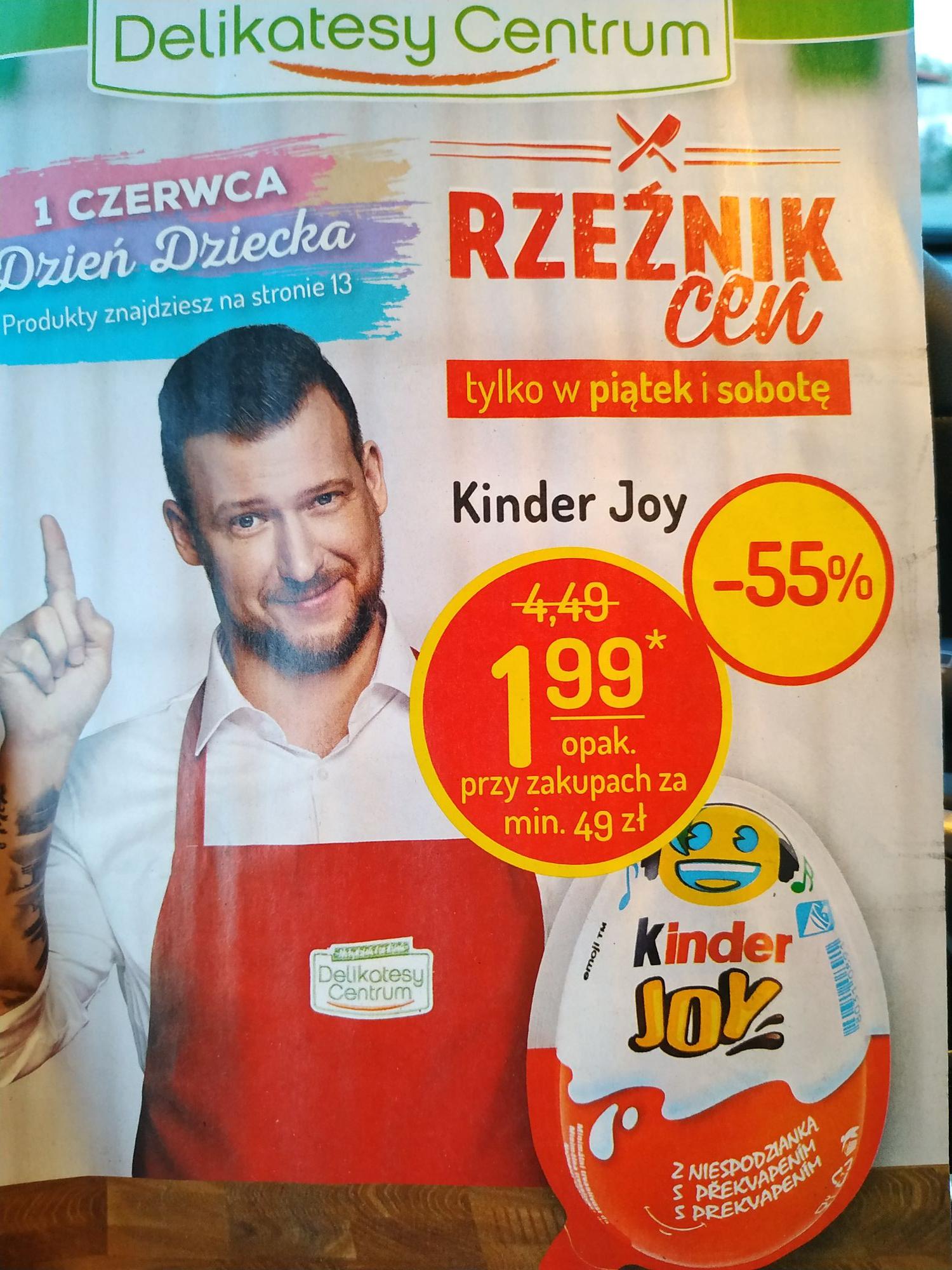 Kinder Joy oferta Delikatesy Centrum