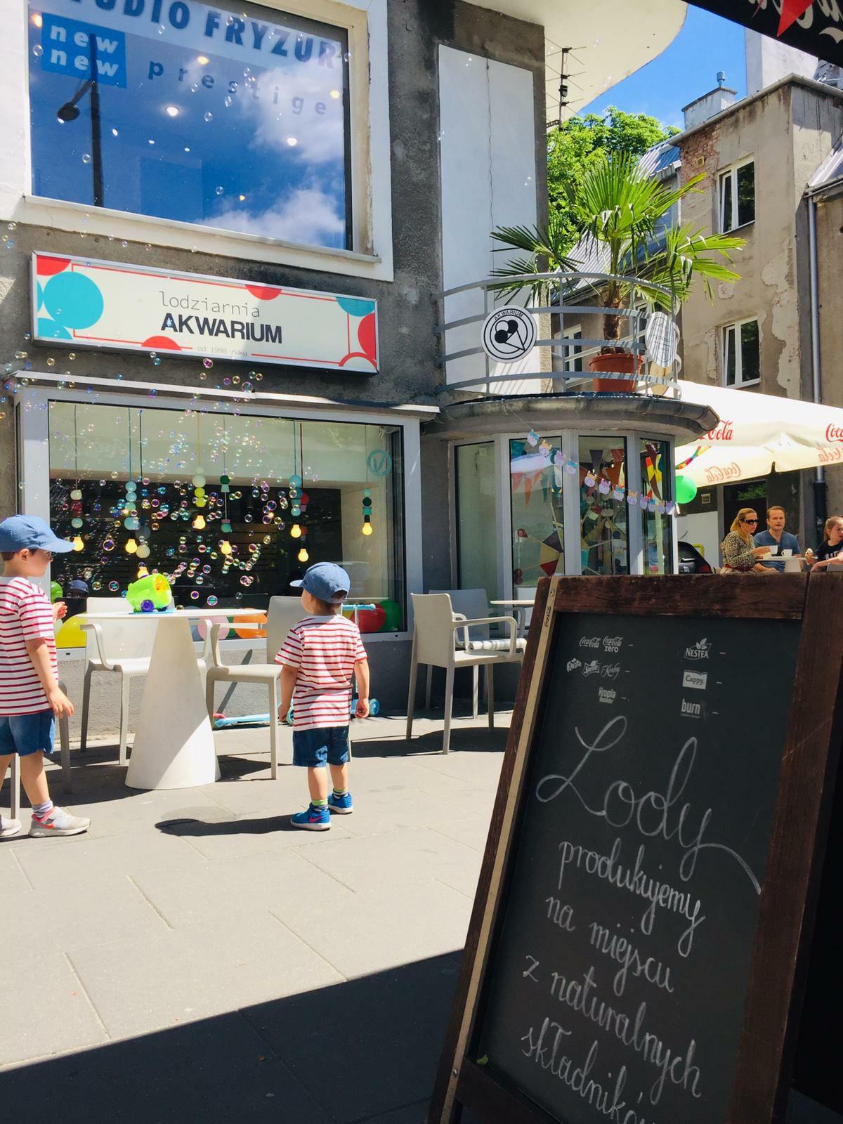 Gałka lodów gratis na Dzień Dziecka @ Lodziarnia Akwarium (Warszawa)