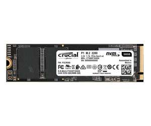 Crucial P1 500GB M.2 PCIe NVMe