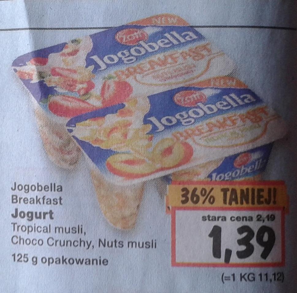 Jogobella Breakfast w dobrej cenie
