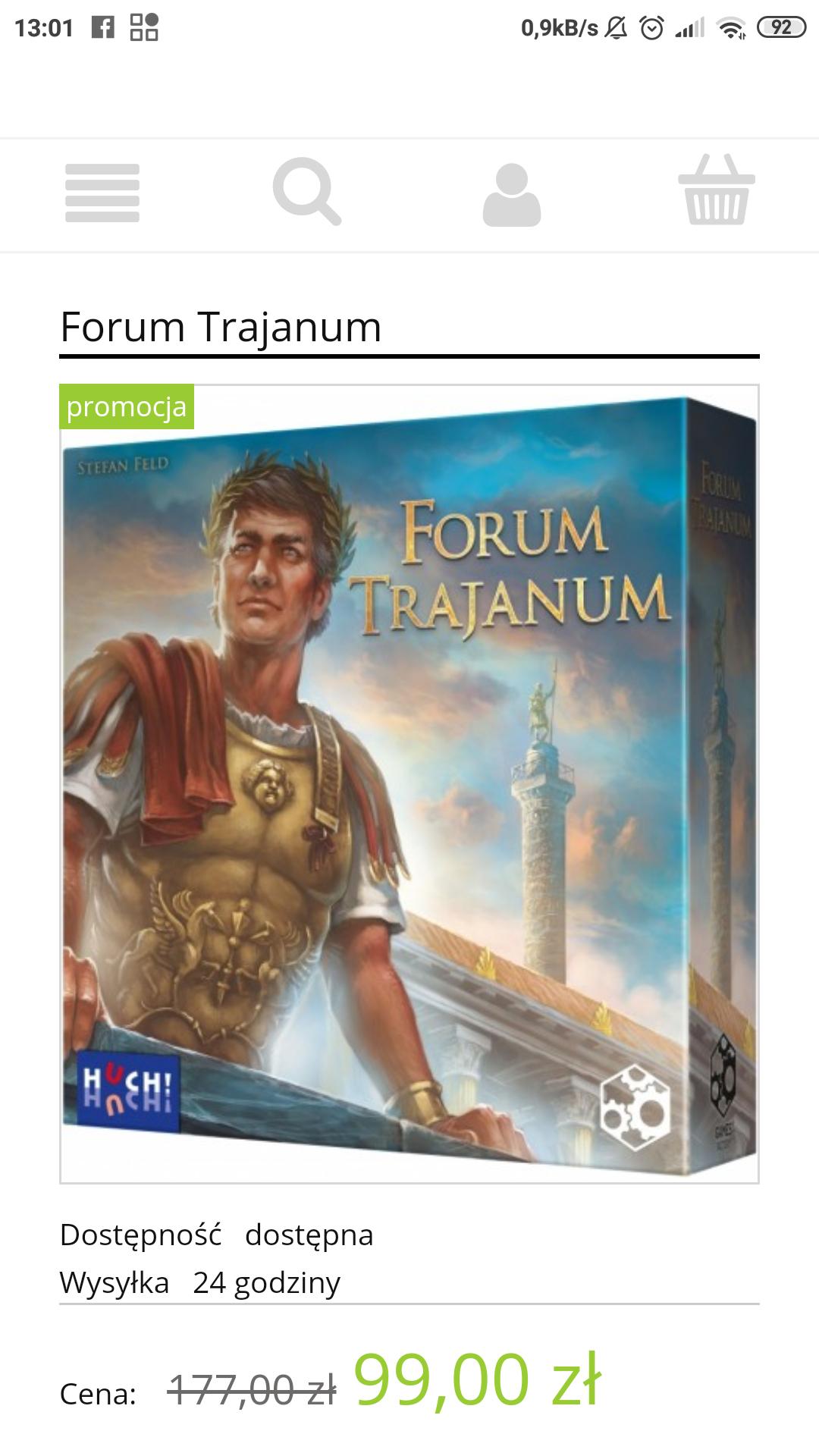 Forum Trajanum za 99 zł w mepel.pl
