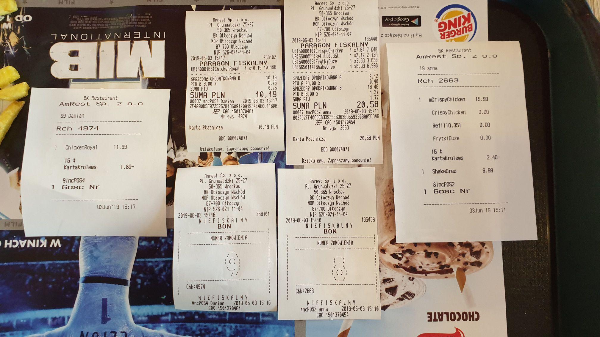Burger King -15% dla Kierowców TIR