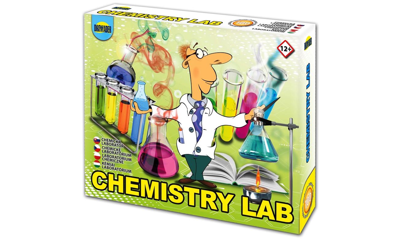 Dromader Laboratorium Chemiczne Mały Chemik 100 doświadczeń
