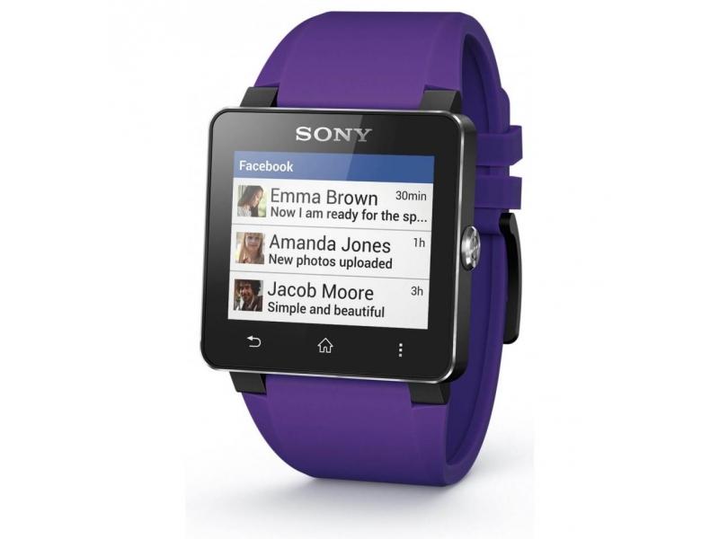 Sony SmartWatch 2 Silicon (fioletowy) za 269zł @ X-kom