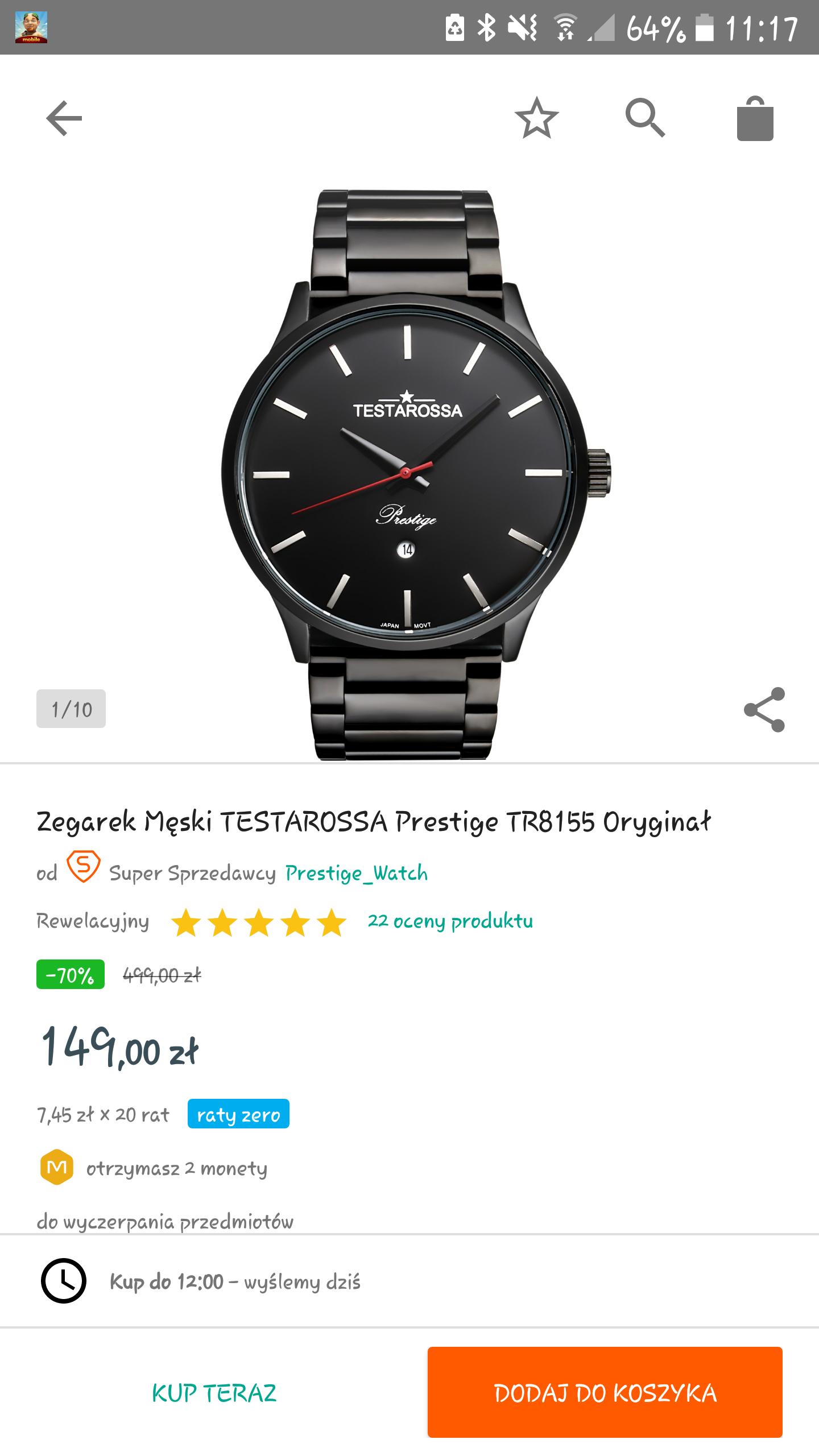 Zegarek TESTAROSSA TR8155