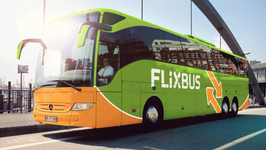 Bilety na przejazdy do różnych miast flixbus