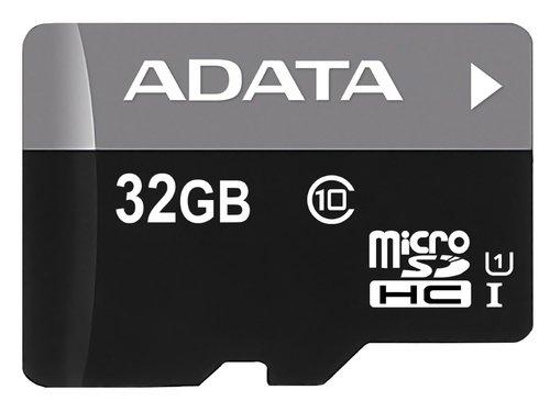 Karta pamięci MicroSDHC ADATA Premier 32GB Class 10 Sferis