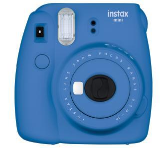 Fujifilm Instax Mini 9 niebieski (też różowy), jest też Creative Muvo 1C za 79,99 zł czarny i zielony