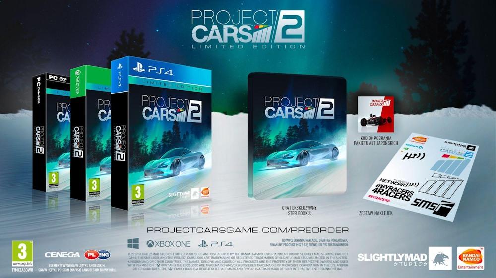 Project Cars 2 Edycja Limitowana - PS4