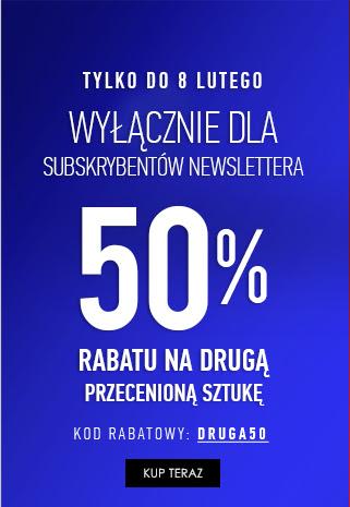 Dodatkowe 50% rabatu na drugą przecenioną sztukę (np. dwa garnitury za 749,85zł) @ Vistula