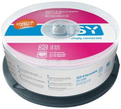 Płyty DVD+R 25 szt. 4,7GB
