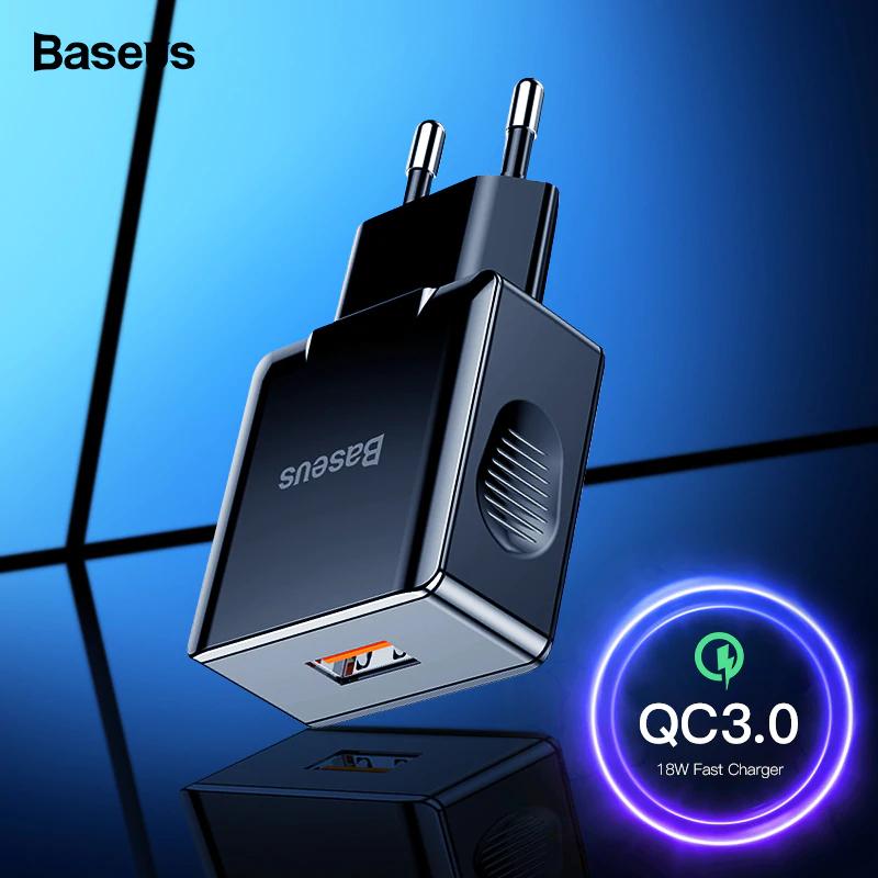 Ładowarka Baseus QC 3.0 jeden port, 3,99$