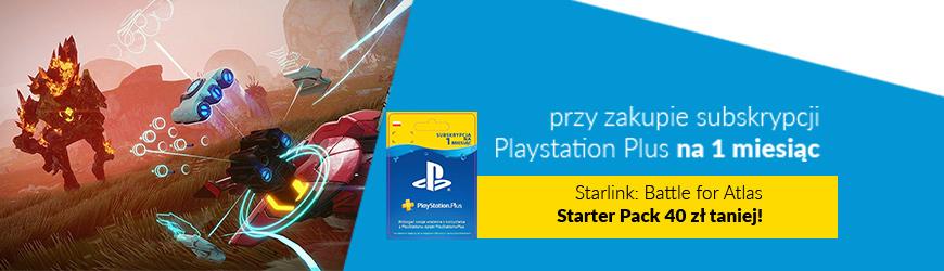 Przy zakupie PS Plus rabat na StarLink