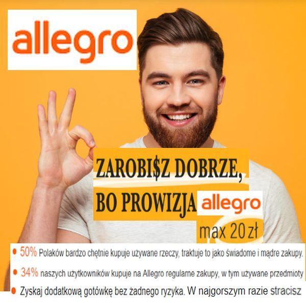 ALLEGRO -nie więcej niż 20zł prowizji!