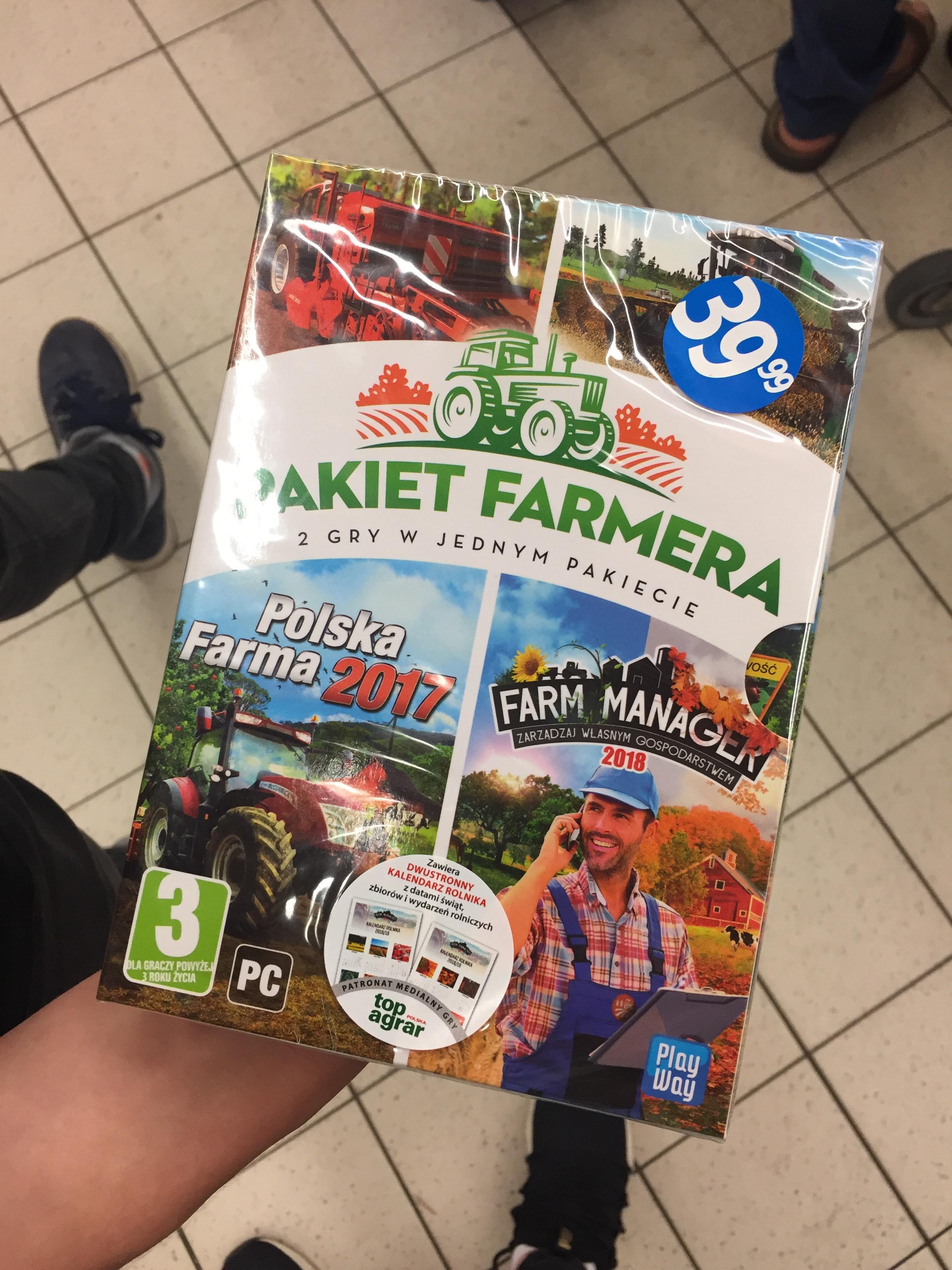Pakiet Farmera | Polska Farma (Farm Expert) oraz Farm Manager 2018 | Biedronka