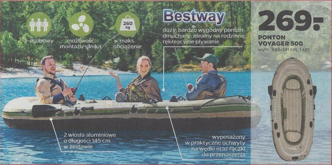 Ponton Bestway Voyager 500 - Netto