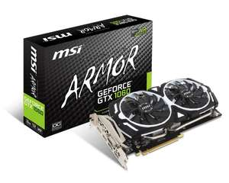 MSI GeForce GTX 1060 ARMOR OCV1 6GB GDDR5 + SHADOW OF THE TOMB RAIDER