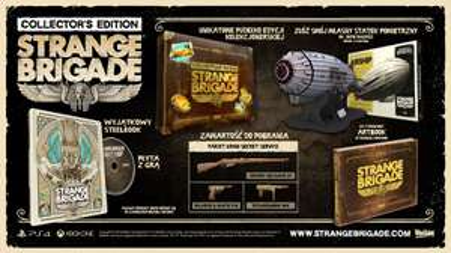 Strange Brigade Edycja Kolekcjonerska PL PS4