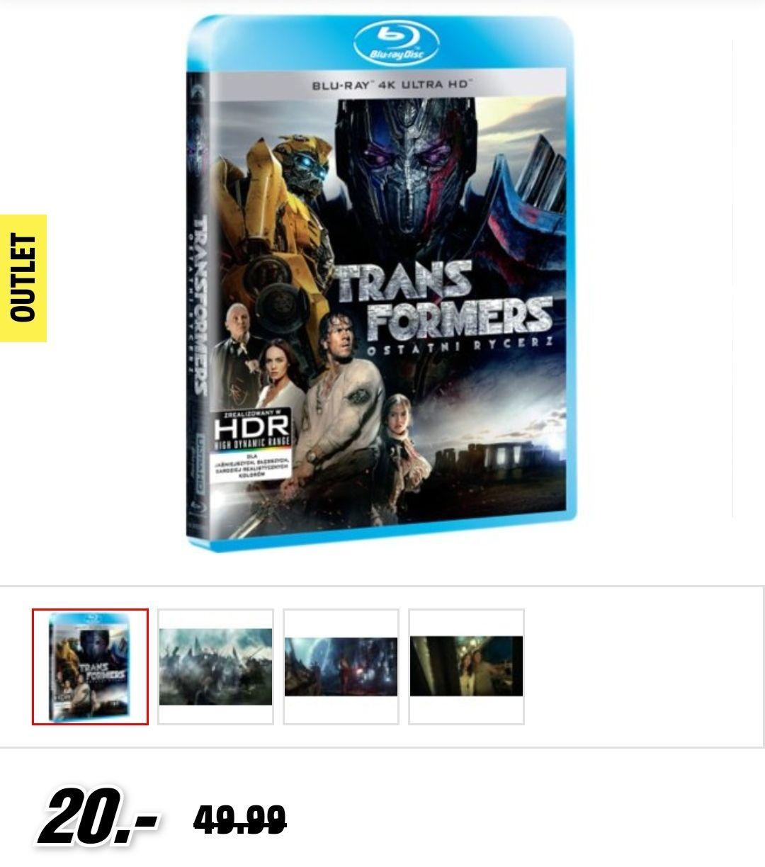 Transformers: Ostatni Rycerz BluRay-4K UHD HDR Media Markt