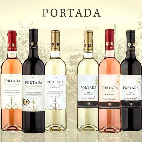 Wino Portada, portugalskie, różne rodzaje, w Selgros