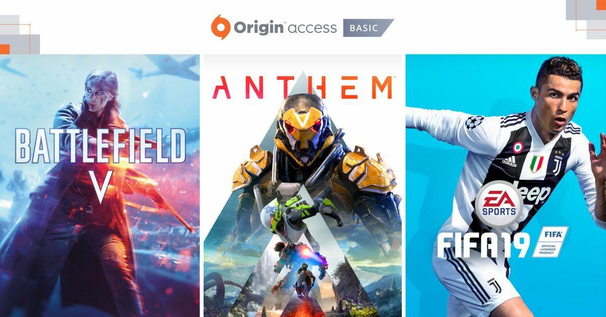 Promocja z okazji EA Play i E3. Darmowy tydzień abonamentu Origin Access Basic PC.