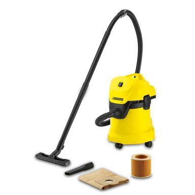 Karcher WD3 - odkurzacz przemysłowy, praca na sucho i mokro (WD 3 1.629-801.0)