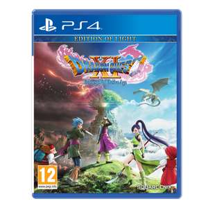 Dragon Quest XI Echoes Of An Elusive Age Edition Of Light PS4