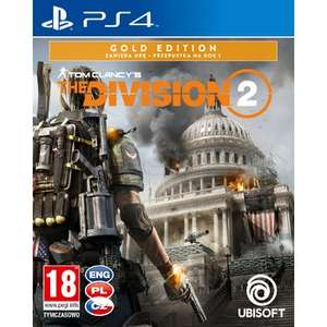 The Division 2 GOLD EDITION PS4/Xbox One