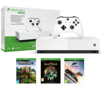 Xbox One S 1TB All-Digital Edition +Minecraft +Sea Of Thieves +Forza Horizon 3