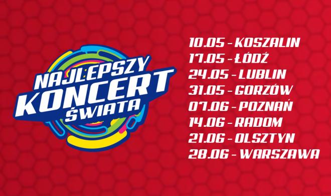 Koncerty Disco Polo za darmo - Najlepszy Koncert Świata VOX FM 2019