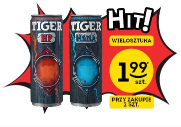 TIGER HP i TIGER MANA w Żabce