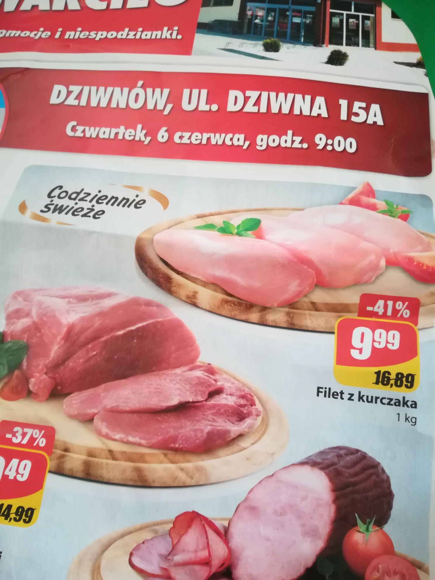 Filet z kurczaka na otwarcie Dino Dziwnów do 08.06 do 22:00